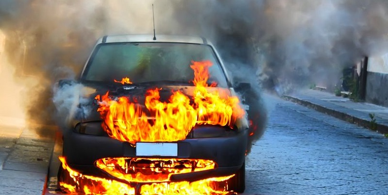 What to Do In the Event of an Engine Fire Not Resulting From a Colorado Car Accident
