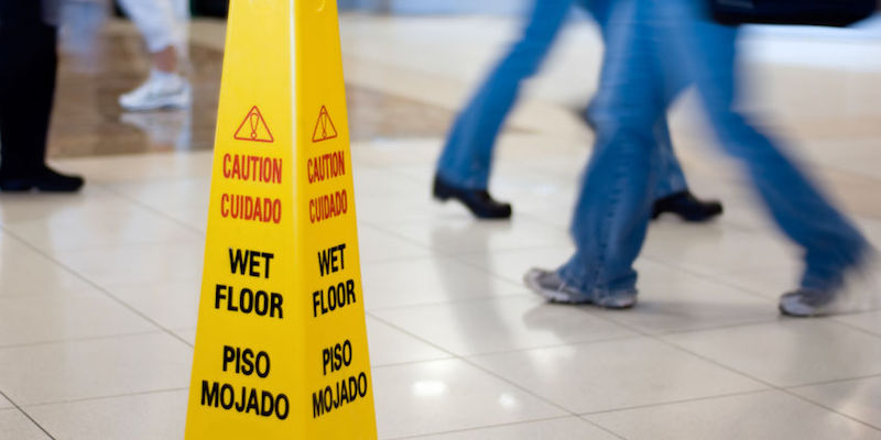 Slip-and-Fall Injuries Could Result in TBI