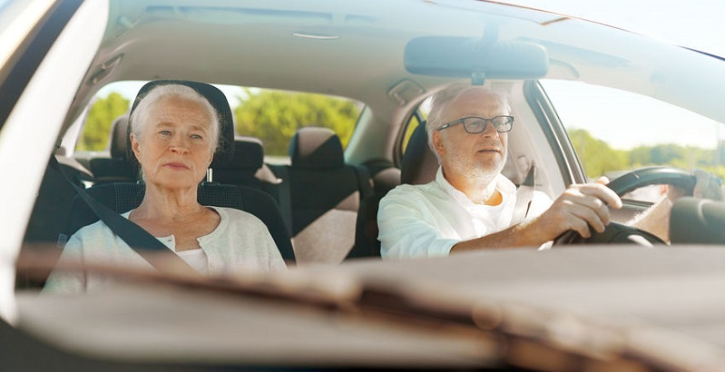 Older Colorado Drivers and Auto Accidents and Injuries